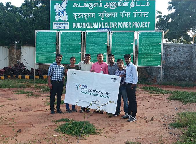 Industrial Visit – Koodamkulam Nuclear Power Plant, Tamil Nadu, India
