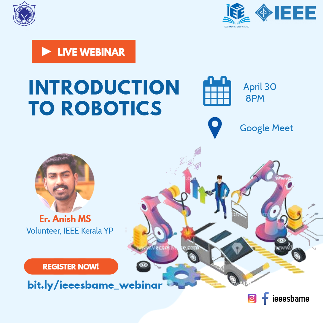 Webinar: Introduction to Robotics