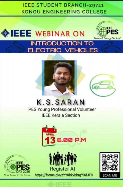Read more about the article Webinar: Introduction to Electric Vehicles