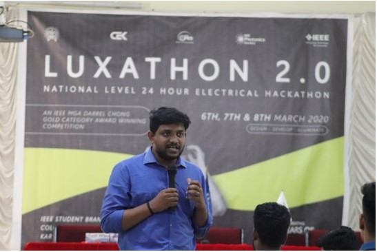 Technical & Interactive Sessions In LUXATHON 2.0