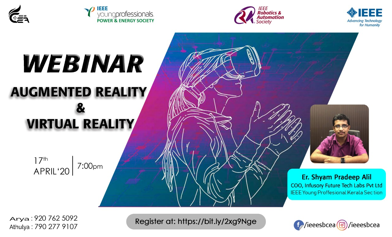 Read more about the article Webinar: Agumented Reality & Virtual Reality