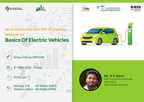 Webinar: Basics of Electric Vehicles