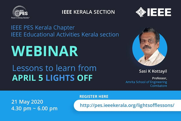 Read more about the article Webinar: Lessons to Learn from April 5 Lights Off