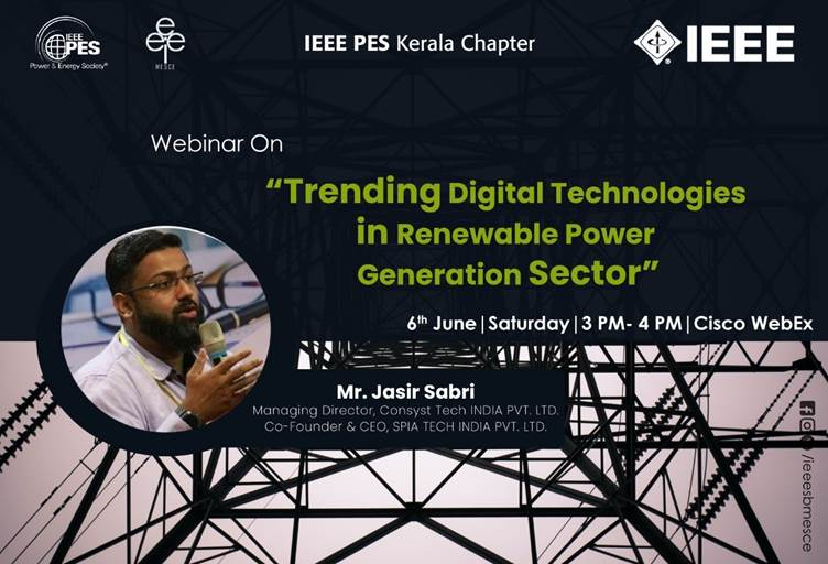 Webinar: Trending Digital Technologies in Renewable Power Generation Sector
