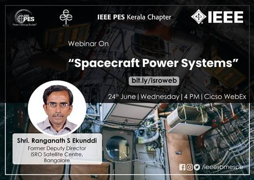 Read more about the article Webinar: Space Craft Power System