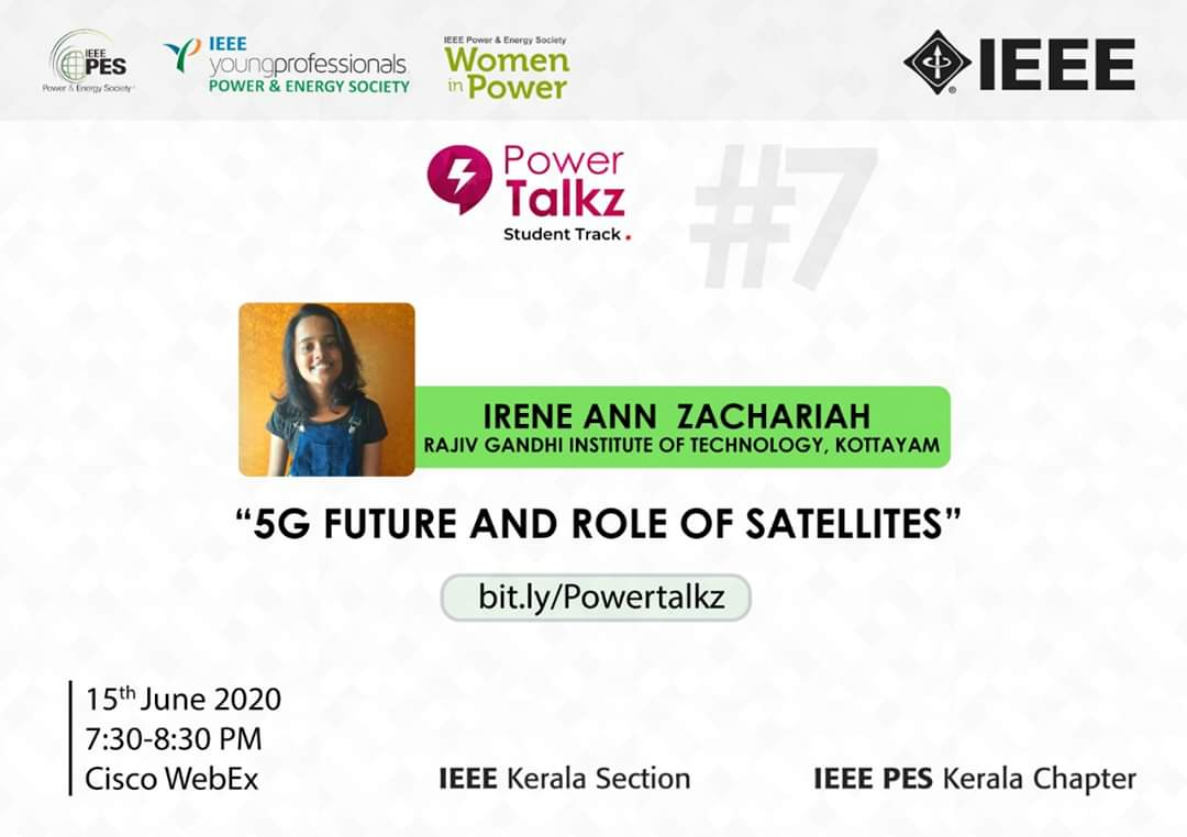PowerTalkz: 5G Future and Role of Satellites.