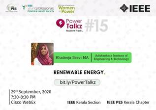 PowerTalkz: Renewable Energy