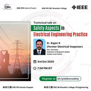 Talk: Safety Aspects in Electrical Engineering Practice