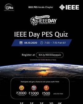 IEEE DAY 2020 PES Quiz