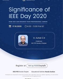 Significance of IEEE Day 2020