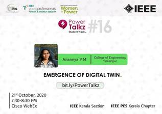 PowerTalkz: Emergence of Digital Twin