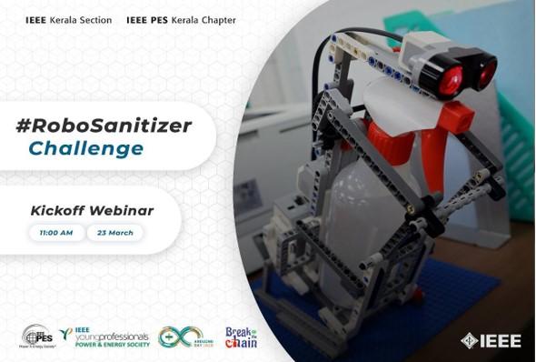 Robo Sanitizer Challenge