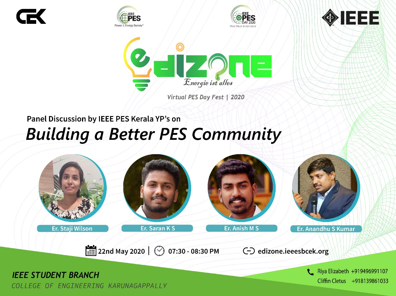 Panel Discussion: Building a better PES Community