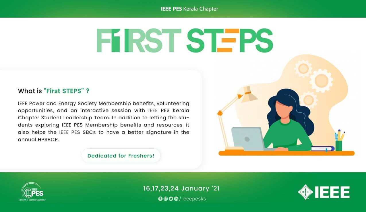 Read more about the article FIRST STEPS