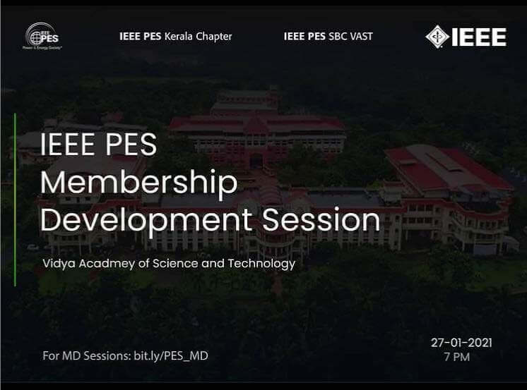 Read more about the article MD Session- IEEE PES SBC VAST