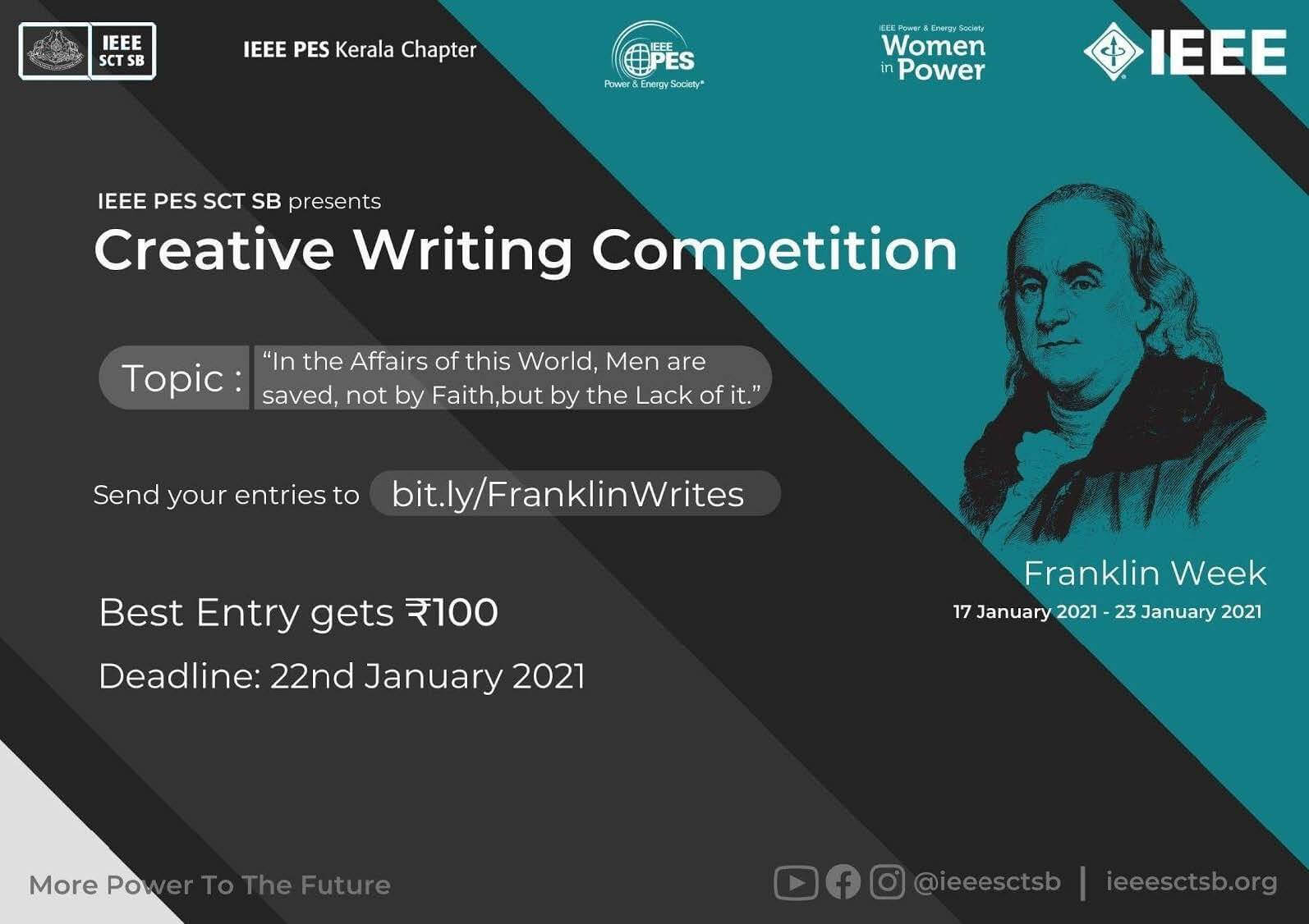Read more about the article REMEMBERING LEGENDS 2.0:- Creative Writing Competition