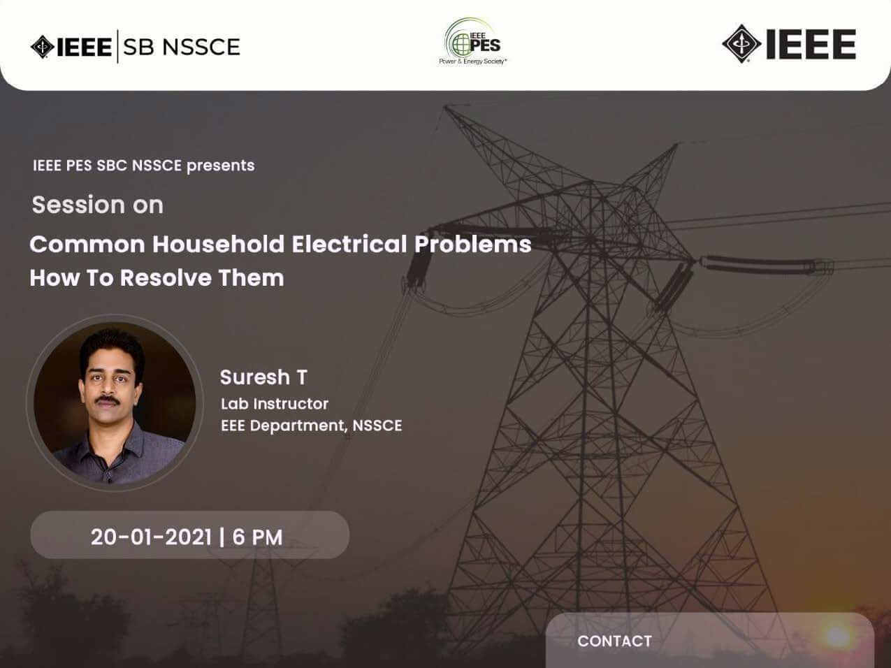Read more about the article REMEMBERING LEGENDS 2.0:- Common Household Electrical Problems And How To  Resolve Them