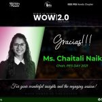 WOW 2.0 – Tech Talk: 1 Journey Towards Becoming the First Female Chair of IEEE PES DAY