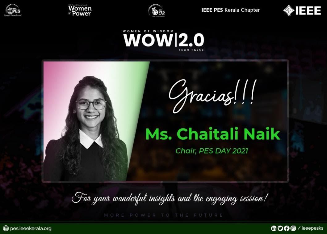 Read more about the article WOW 2.0 – Tech Talk: 1 Journey Towards Becoming the First Female Chair of IEEE PES DAY